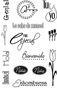 FRASES EN ESPAÑOL PARA SCRAPBOOKING - Buscar con Google: Scrapbook Albums, Scrapbook Paper, Morning Love Quotes, Scrap Material, Diy Notebook, Handwritten Fonts, Cute Mugs, Book Making, Silhouette Cameo