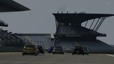 Salida con los volkswagen en  nurburgring