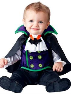 Count Cutie - Baby Costume front