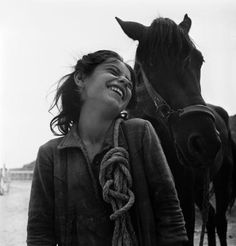 Italy, 1948 David Seymour - ✯ www.pinterest.com/WhoLoves/Smiles ✯ #smile