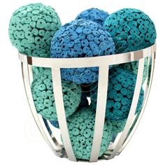 Emerald Large Decorative Balls by Angel Aromatics I Available at http://www.angelaromatics.com.au/scented-bowl-decorations