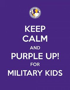 April is Month of the Military Child downloadable materials, sticker templates, and posters from the Military Child Education Coalition