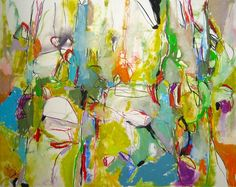 """Saatchi Art Artist: Mary Ann Wakeley; Oil 2014 Painting """"Natural Roots"""""""