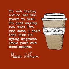 Seriously. #coffee
