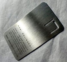 Get my #metal #business #cards from online company at 50 % discount. Unique and decent designs waiting for you. https://www.scribd.com/doc/261322046/Do-You-Know-the-Purpose-of-Metal-Business-Cards