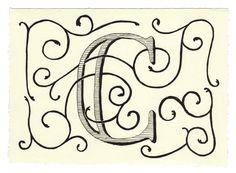 Day 55 • C • Handwritten Letters