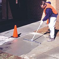 Flowpatch self leveling concrete patch repair perfect for concrete concrete resurfacer my driveway needs this solutioingenieria Gallery