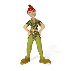 Jeweled Peter Pan Figurine by Arribas Brothers | Figurines & Keepsakes | Disney Store