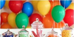 Top 5 Centerpieces for Your Next Party - Evite 5th Birthday, Birthday Parties, Personal Progress, Centerpieces, Table Decorations, Sweet 16, Birthdays, Candy, Party Ideas