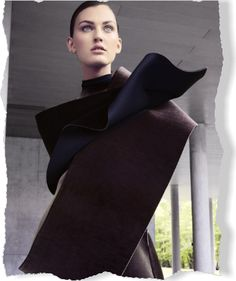 Emporio Armani. Take Shape. Clipped from Marie Claire using Netpage.