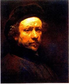 Rembrandt Self Portrait with Beret (ca. 1659)