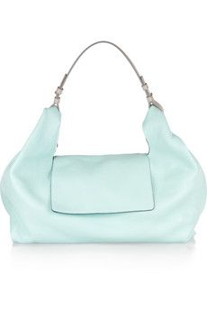 Jil Sander.  This color is sooooooo amazing, and the simple shape keeps it from being prissy.
