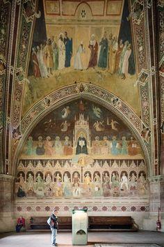 Basilica of Santa Maria Novella Florence Tuscany Italy Leon Battista Alberti