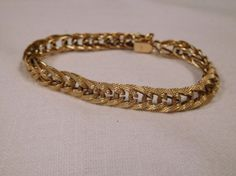 Ladies 14k Woven Design Bracelet | Auctions Online | Proxibid