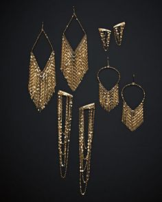 Assorted Earrings by Lana at Neiman Marcus.