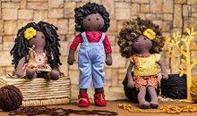 Curso online de Bonecas negras em tecido