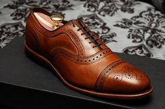 Strands in Walnut Calf. Swanky duds if there ever were.