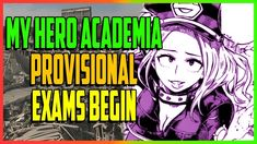 "My Hero Academia ""The Provisional Hero Exams Begin!"" - CH 103-105 Comple..."