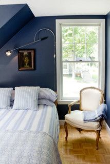 Blue Bedroom For Men if we had light carpet in our room i'd totally do this | for the