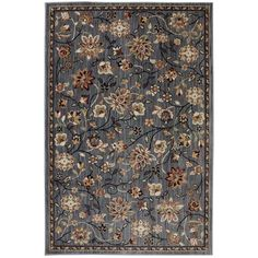 This design takes a modern approach to a classic pattern with an updated color scheme. Manufactured entirely in the United States, it's also durable and stain-resistant. Mohawk Emerson Abyss Blue 8x11 Rug | Weekends Only Furniture and Mattress