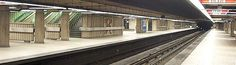Station Jean-Drapeau (ligne 4 jaune) - Pour plus d'informations : http://metrodemontreal.com/yellow/jeandrapeau/index-f.html