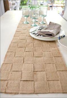 <h1>Caminero de mesa o alfombra con cinchas de yute, sin coser</h1> : VCTRY's BLOG