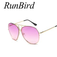 11b80192de RunBird Oversized Round Candy Sunglasses Fashion Women Large Size Big Retro  Sun Glasses Lady Female Brand Designer UV400 769R-in Sunglasses from  Women's ...