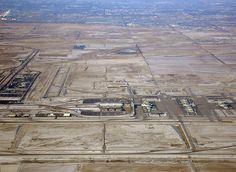 Denver International Airport 'DIA'   -   ...aerial view by Bachir, via Flickr