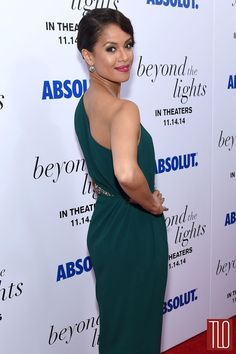 Gugu Mbatha Raw Beyond The Lights Premiere in Lanvin