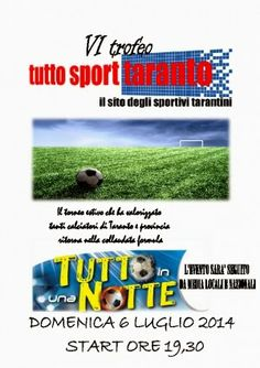 """TARAStv: AL VIA """"TUTTO IN UNA NOTTE"""" IL TORNEO DI TUTTOSPOR..."""