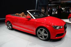 2015 Audi A3 Convertible Red