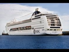 nice MSC Lirica departing from Dubai Port 2017   MSC Cruises 2017