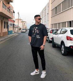 Yay or Nay? Summer Outfits Men, Stylish Mens Outfits, Dope Outfits, Men Casual, Casual Guy Outfits, Black Outfit Edgy, Hype Clothing, Mens Clothing Styles, Urban Street Style