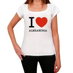 #I #love #Alexandria #white #tshirt #women  Alexandria-a place where dreams come true... Buy it now, online, here --> https://www.teeshirtee.com/collections/i-love-citys-women-white/products/alexandria-i-love-citys-white-womens-short-sleeve-rounded-neck-t-shirt-100-cotton-available-in-sizes-xs-s-m-l-xl