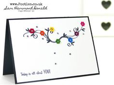 Stampin' Up! #1 Demonstrator Pootles - Free Stampin' Up! Stamps and Scraps Alert! Beautiful Peacock Rainbow Card!