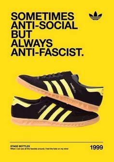 '58 Adidas Vintage, Adidas Retro, Adidas Ads, Football Casual Clothing, Football Casuals, Football Boots, Shoe Advertising, Adidas Spezial, Casual Art