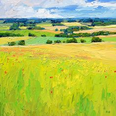 Summer Grass Fields by Halima Washington-Dixon