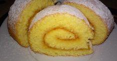 Egyszerű piskótatekercs recept képpel. Hozzávalók és az elkészítés részletes leírása. A Egyszerű piskótatekercs elkészítési ideje: 30 perc Hungarian Cake, No Cook Meals, Sweet Treats, Deserts, Muffin, Food And Drink, Sweets, Bread, Cookies