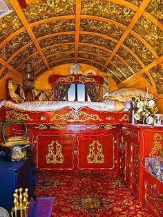 Wouldn't it be fun to own a gypsy wagon!
