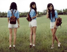 Lace shorts, EXTREMELY hot for this summer! (by Sonja Gje) http://lookbook.nu/look/3719433-Suga-Suga