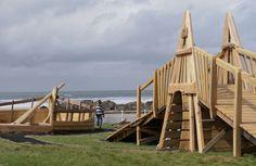 The Shipwreck, Crooklets Beach, Bude, Cornwall Bude Cornwall, Natural Playground, Playground Design, Shipwreck, Back Gardens, Guys, Beach, Nature, Naturaleza