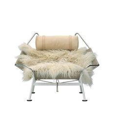 PP225 Flag Halyard Chair. Designer: Hans J. Wegner. Original PP225 Flag Halyard Chair manufactured under license in Denmark by PP Mobler. Dimensions (in): 31