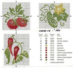 Cross-stitch Garden Veggies... Gallery.ru / Фото #1 - 717 - tymannost