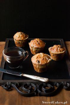 muffiny z rodzynkami raisins muffins Raisin Muffins, Breakfast, Food, Morning Coffee, Essen, Meals, Yemek, Eten