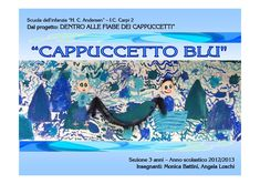 Cappuccetto Blu by Monica Battini - issuu Book Crafts, Public, Author, Education, Books, Simple, Lab, Libros, Book