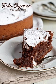 Gluten Free Desserts, Fun Desserts, Chocolate Desserts, Chocolate Cake, Cheesecakes, Nutella, Italian Cake, Italy Food, Something Sweet
