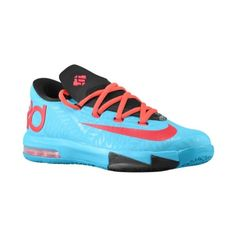 Nike KD VI Boys' Grade School ($100) ❤ liked on Polyvore