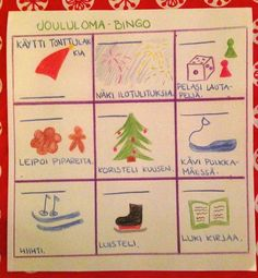 Open ideat: Back to school - kevätlukukausi Bingo, Back To School, Stuff To Do, Education, Cards, Christmas, Love, Xmas, First Day Of School