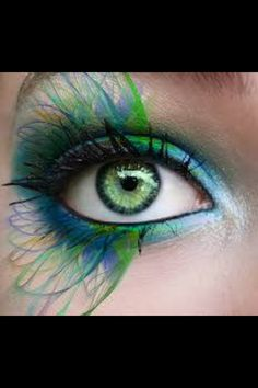 Fairy makeup, would this bring out the green in my eyes