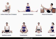 nice Different yoga exercises
